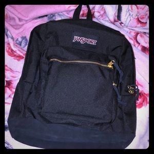 Black and Gold Jansport Right Pack Expressions
